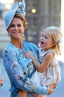 Prinzessin Madeleine + Prinzessin Leonore