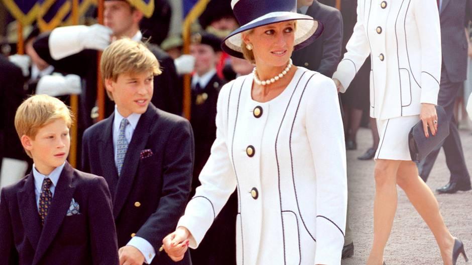 Prinz Harry + Prinz William + Prinzessin Diana