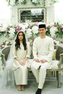 Prinzessin Tunku Tun Aminah + Dennis Mohammed Abdullah