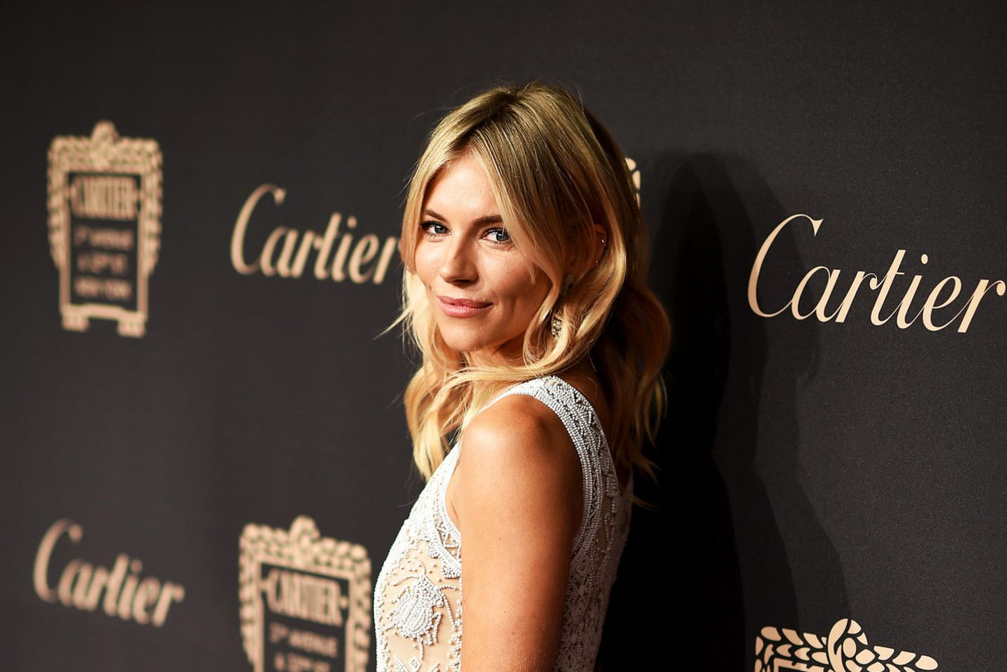 Sienna Miller beim Cartier Fifth Avenue Grand Reopening Event in New York.