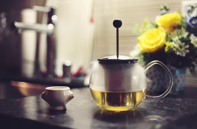 Grüner Tee hilft bei der Fettverbrennung.
