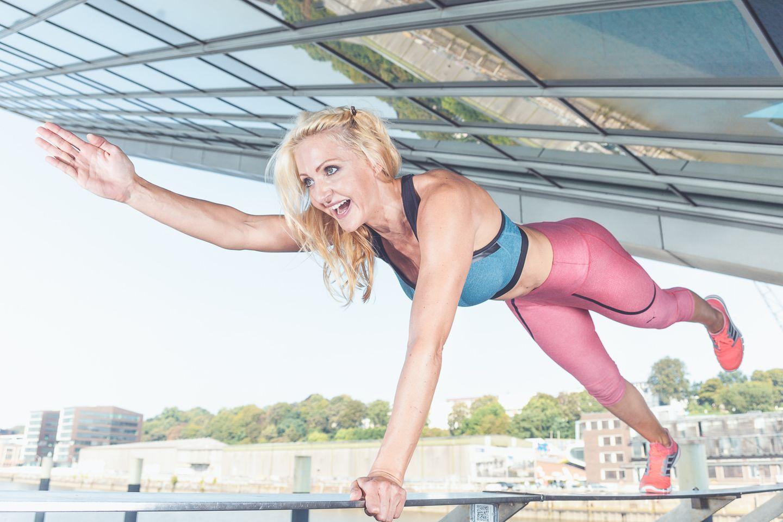 Personal Trainerin Mieke Tasch integriert Sport in den Alltag.