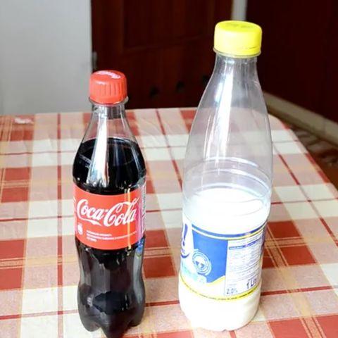 Cola und Milch