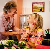 22. August 2017   Die Senioren haben Königin Máxima schnell ins Herz geschlossen.