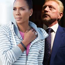 Barbara Becker + Boris Becker