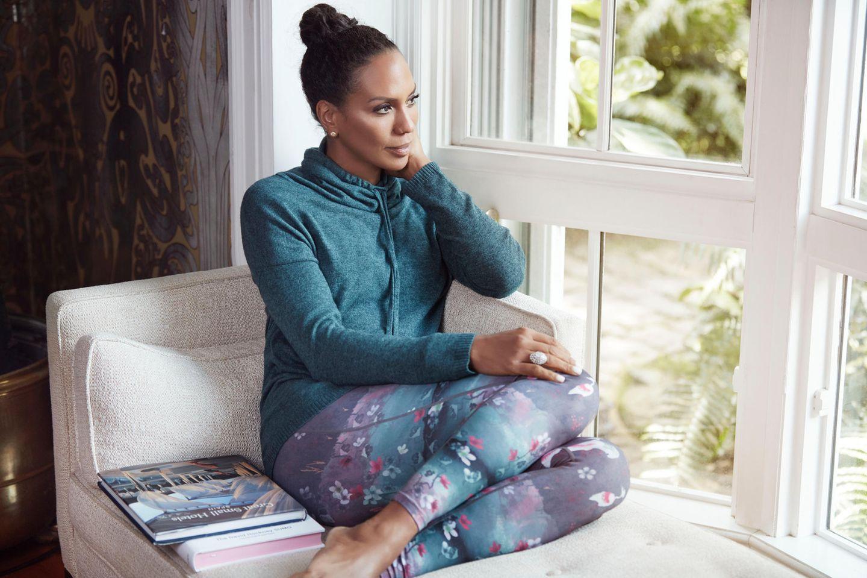 """FÜR QVC designte Barbara Becker ihre exklusive Lounge- und Fitnesswear Kollektion """"Miami Fit"""""""