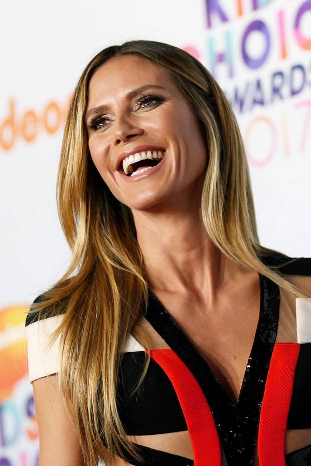 Heidi klum kurze haare 2013