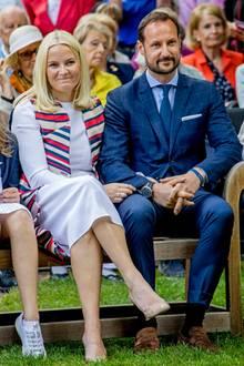 Mette-Marit und Kronprinz Haakon