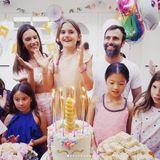 24. August 2017  Auch die Geburtstagstorte hat Mama Alessandra Ambrosio in Form eines Einhorns gestaltet. Da staunen Anja und ihre Freundinnen nicht schlecht.