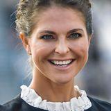 Prinzessin Madeleine  Was für ein Strahlen! Prinzessin Madeleine verzaubert mit ihrem Lächeln nicht nur die Schweden. Selbst in ihrer Wahlheimat New York ist man hin und weg von ihr. Und wir ja sowieso.