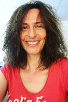 """Mit dieser wuscheligen """"Natur""""-Mähne würde sich Kathrin Flemming sicherlich nicht auf Instagram zeigen. Im wahren Leben scheinen sich Ulrike Frank und ihr eitler GZSZ-Charakter demnach so gar nicht zu ähneln, sehr sympathisch!"""