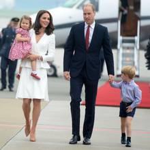 Prinz William, Herzogin Catherine, Prinz George + Prinzessin Charlotte