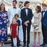 28. August 2017  Prinz Nikolai, der älteste Sohn von Prinz Joachim, feiert seinen 18. Geburtstag im Kreise seiner Patchwork-Familie.