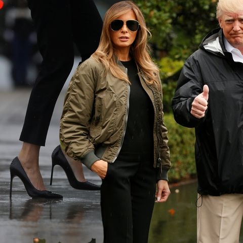 Melania + Donald Trump