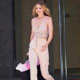 """Allen Grund zum Strahlen: Auch Gigi Hadid bestätigte via Instagram, dass sie dieses Jahr erneut für """"Victoria's Secret"""" über den Laufsteg laufen wird."""