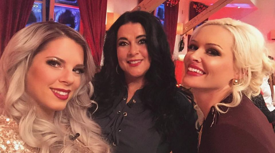Jenny Frankhauser, Iris Klein, Daniela Katzenberger