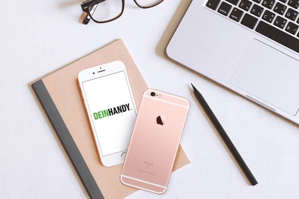 iPhone 6s in Roségold