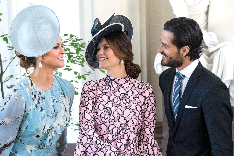 Prinzessin Madeleine, Prinzessin Sofia, Prinz Carl Philip