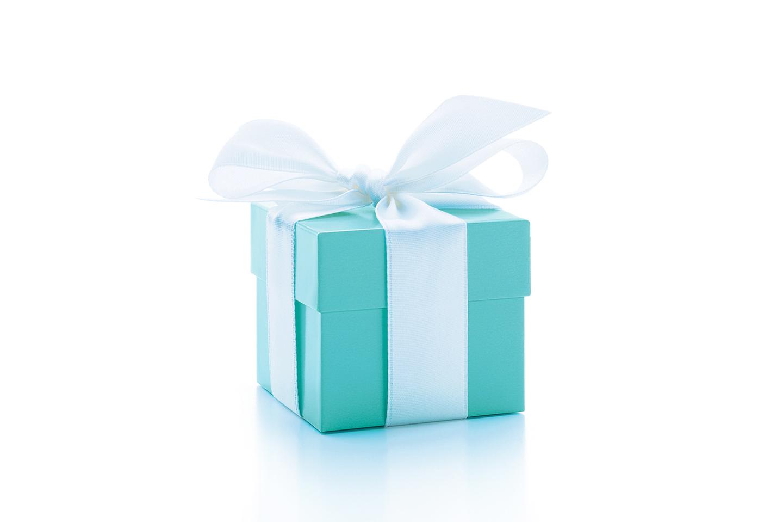 "Die berühmte Tiffany & Co. ""Blue Box"""