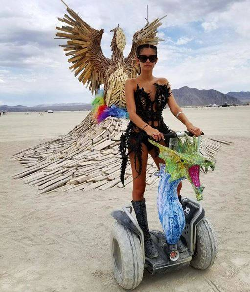from Santiago girls at burning man nude