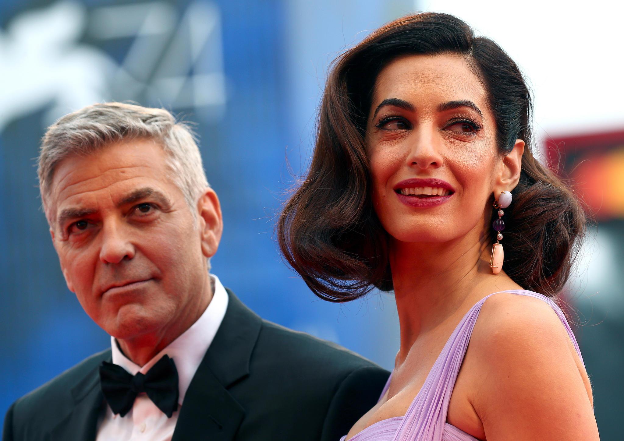 George Clooney bietet Flüchtling neues Zuhause