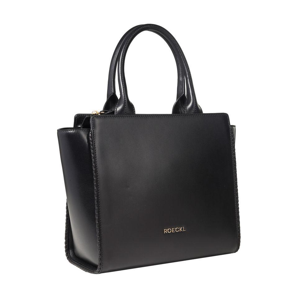 Diese Tasche können Sie gewinnen:ROECKL-Taschen sind elegante zeitlose Begleiter, die den Stil und die Individualität der Trägerin unterstreichen.