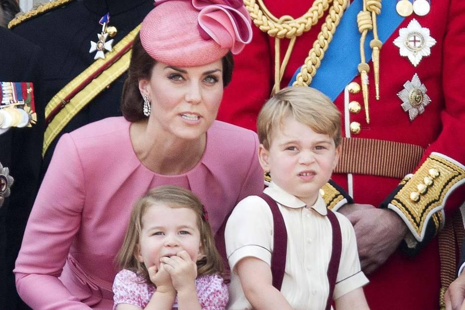 Herzogin Catherine, Prinzessin Charlotte, Prinz George