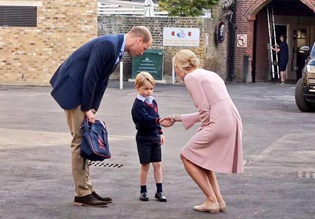 7. September 2017  Für Prinz George brechen neue, aufregende Zeiten an: Er hat seinen ersten Schultag in der Privatschule Thomas's Battersea in London.