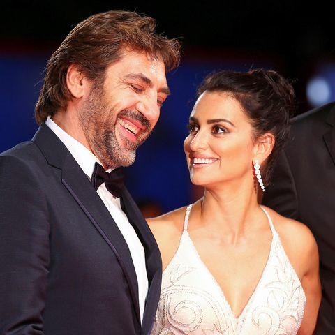 So süß! Javier Bardem und Penélope Cruz in Venedig