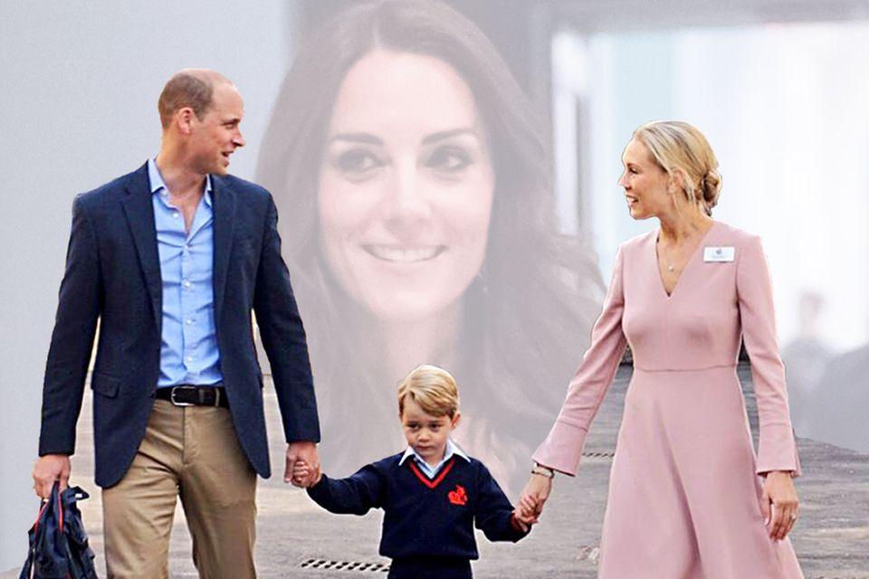 Prinz William, Prinz George, Herzogin Catherine, Helen Haslem