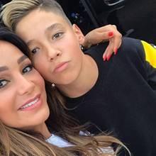 10. September 2017  Mama-Sohn-Selfie: Verona Pooth und Sohn San Diego. Wir können immer noch nicht glauben, wie groß der Promi-Spross schon ist!