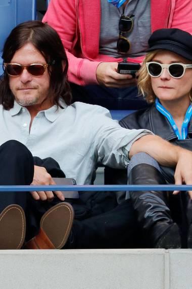 Norman Reedus und Diane Kruger beim Herren-Finale der US Open 2017.