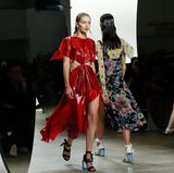 Gigi Hadid läuft in dieser Saison auch für Star-Designer Prabal Gurung.