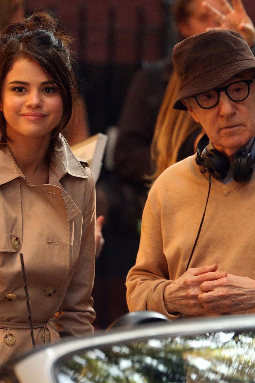 Eine große Ehre für Jungschauspielerin Selena Gomez: Mit Woody Allen hat sie einen wahren Meister als Regisseur.