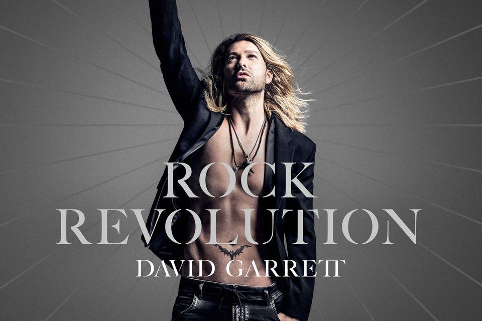 """Das neue Album """"Rock Revolution"""" von David Garrett erscheint am 15. September."""