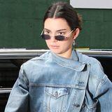 Zwischen den Schauen der Fashionweek in New York ist Kendall Jenner total leger unterwegs. Das gilt für ihr Make-up genauso wie für ihren Look.