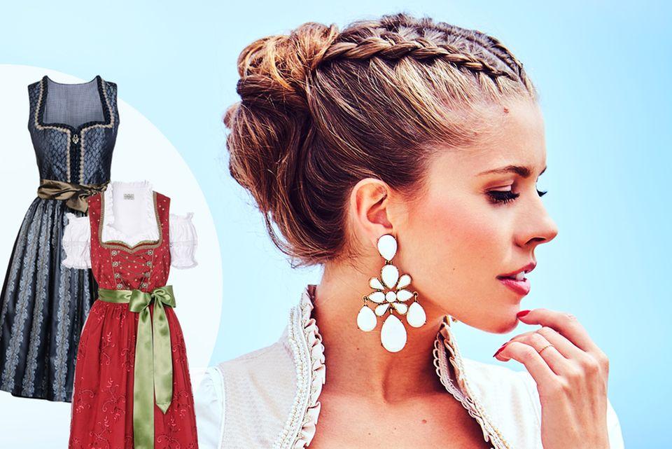 Victoria Swarovskiund ihre VIP-Kolleginnen haben Wiesn-Outfits designt.Jede mit einem persönlichen Twist.GALA findet alle fesch.Und Sie?