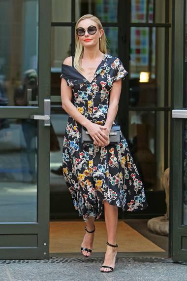 Kate Bosworth verschönert die Straßen von New York mit ihrem blumigen Streetstyle.