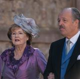 Stolze Eltern: Prinzessin Ehrengard von Preußen (Mutter der Braut) und Fürst Andreas zu Leiningen (Vater des Bräutigams).