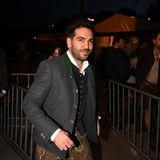 16. September 2017  Schauspielstar Elyas M'Barek auf seinem Weg in das Käferzelt.