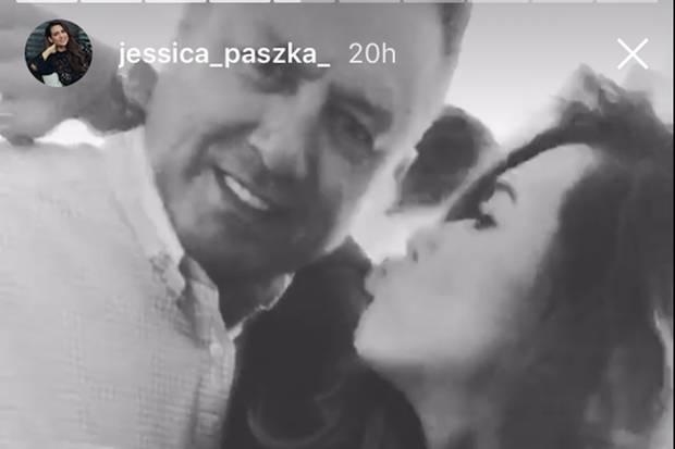 Was genau will uns Jessica Paszka mit diesem Foto von sich und Papa Dariusz sagen?