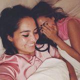"""17. September 2017  Dieses Fotos lässt """"Monrose""""-Fans auf ein Comeback hoffen: Bahar Kizil (l.) und Mandy Capristo treffen sich nach Jahren wieder und verstehen sich nach wie vor bestens. Bahar schreibt dazu auf Instagram: """"Happy End. Nach so vielen Jahren endlich wieder vereint.. nichts hat sich fremd angefühlt. Nichts hat sich verändert. Es war wie damals.. Gespräche bis in die Nacht und Lacher am Morgen"""". Jetzt fehlt eigentlich nur noch Senna Gammour und die ehemalige Girlband wäre wieder komplett."""