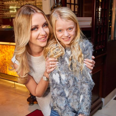 Cathy Lugner und ihre Tochter Leonie