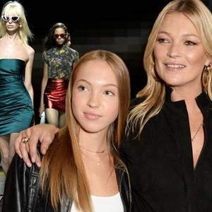 Kate Moss + Tochter Lila Grace