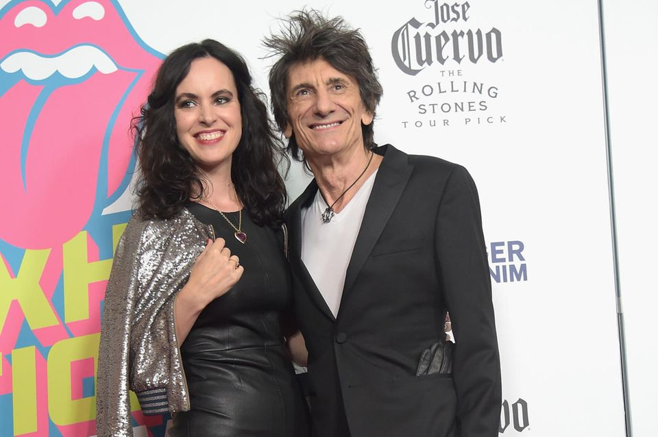 Sally Humphreys, Ron Wood