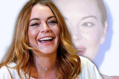 Schluss mit lustig! Lindsay Lohans Gesicht wirkt starr vor Botox