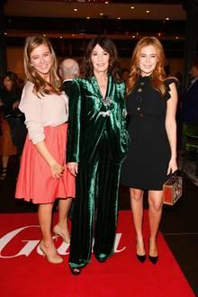 """18. September 2017  Nina Eichinger, Iris Berben und Palina Rojinski gehören zu den prominenten Gästen bei den """"First Steps Awards"""" in Berlin."""
