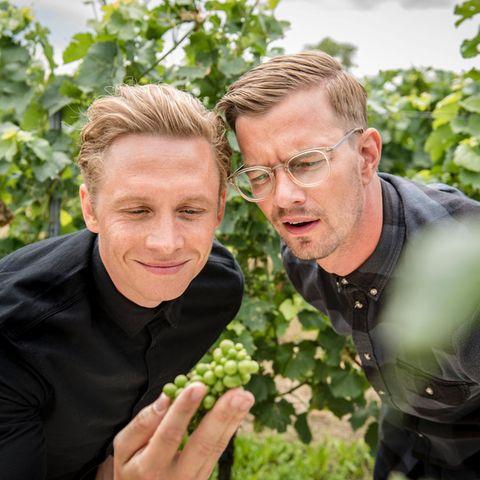 Matthias Schweighöfer und Joko Winterscheidt