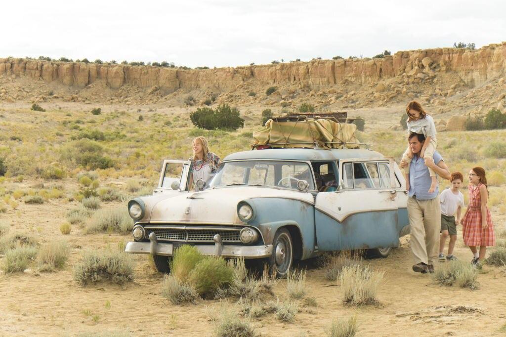 "Szene aus ""Schloss aus Glas"" mit Naomi Watts, Woody Harrelson"