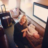 19. September 2017  Storm Keating ist total aufgeregt: Die Ehefrau von Sänger Ronan Keating macht ihre erste lange Reise mit Baby Cooper in Richtung Australien. Bisher schläft der Kleine tief und fest...